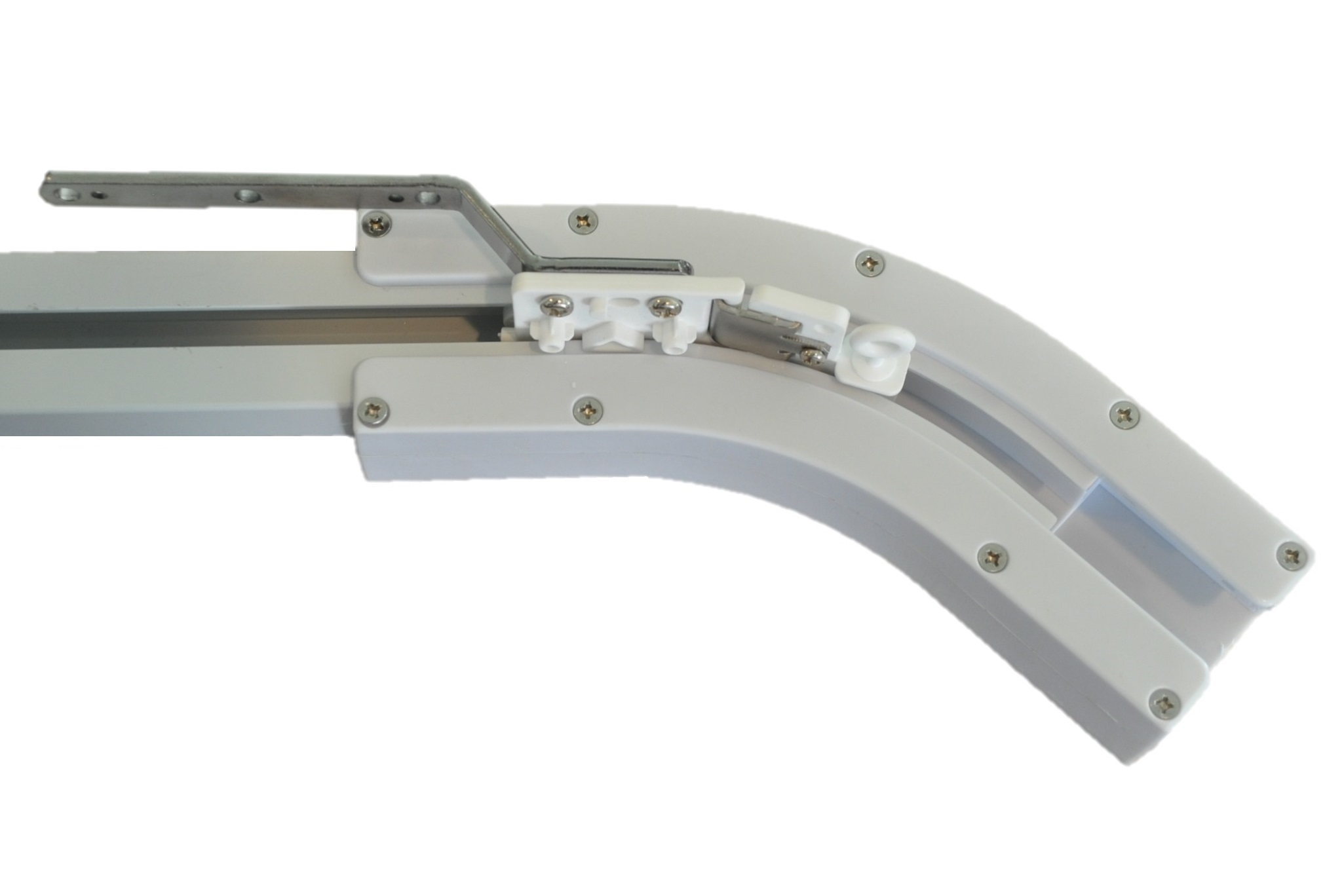 135 Degree Curved Track For Electric Power Track Rail