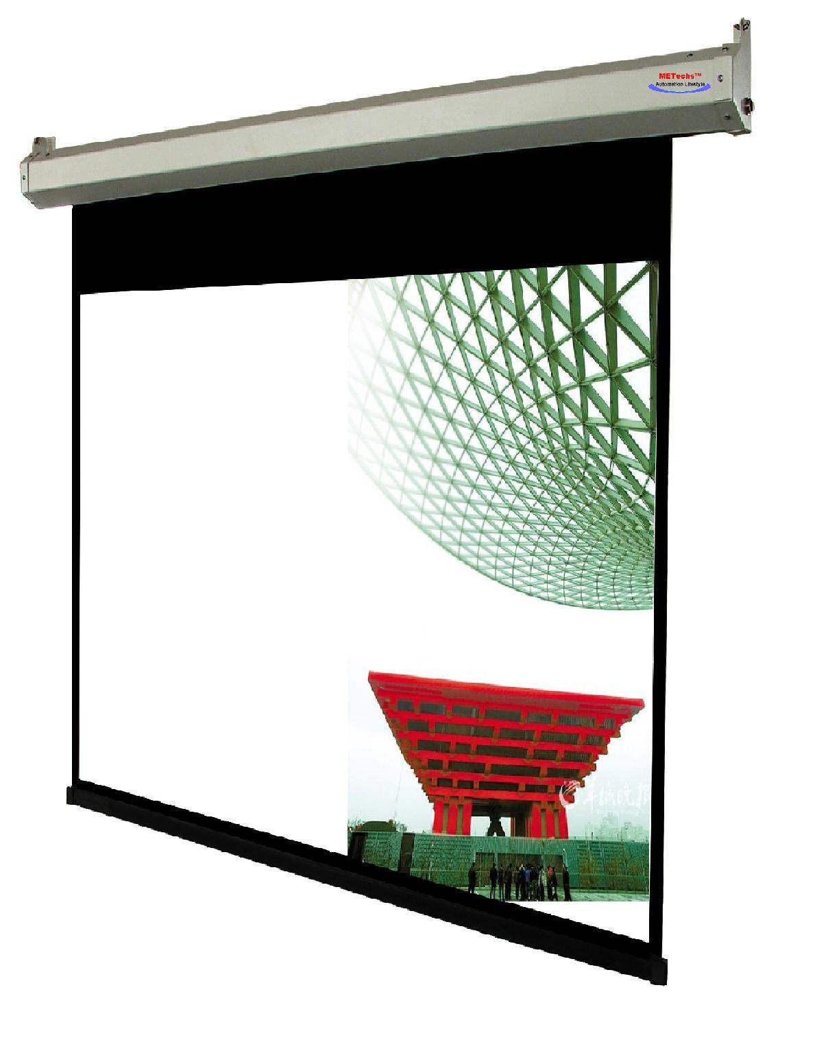 112 1 1 Motorized Electric Projector Screen Me11e 112w