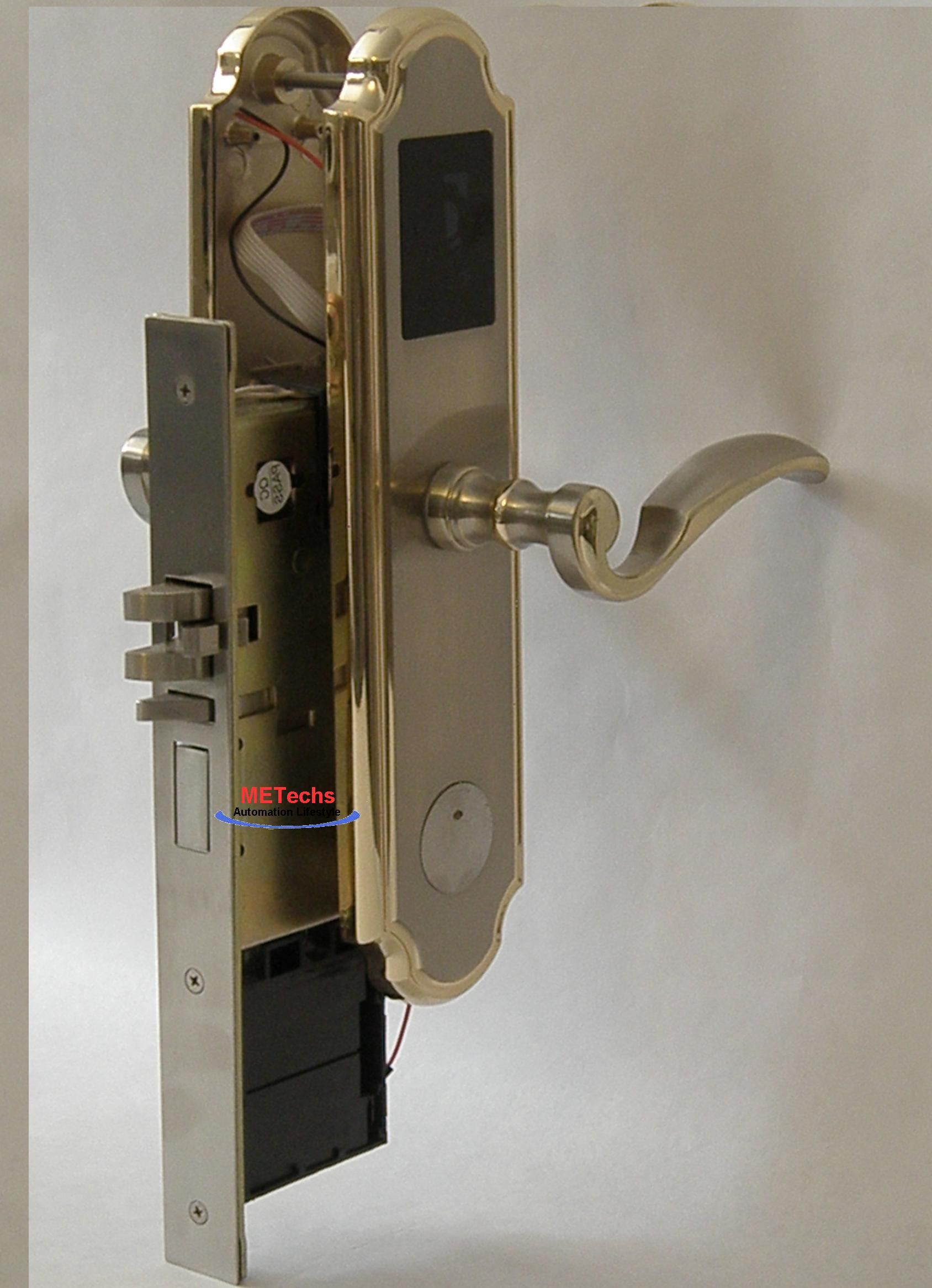keyless em card control door lock bid200jrh right hand