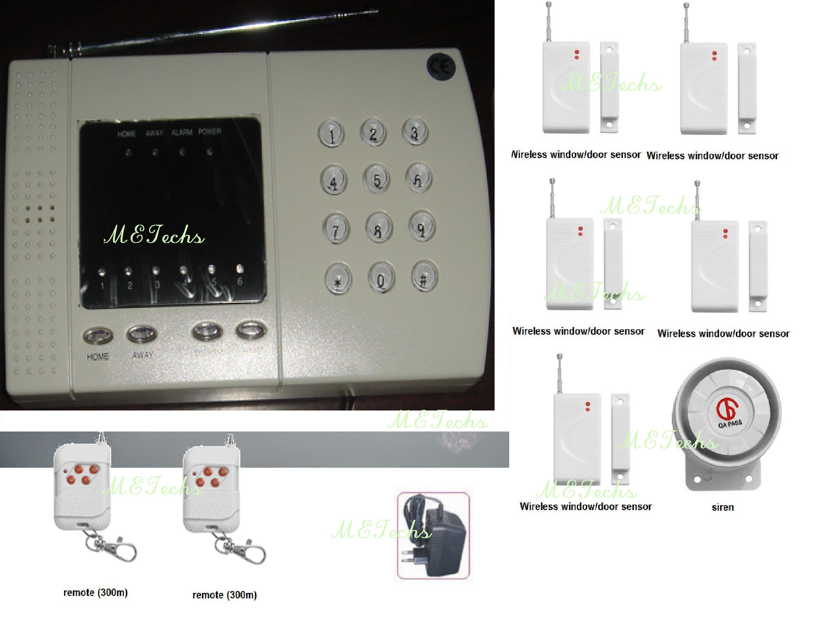 Zone Defence Wireless Home Security Alarm System K