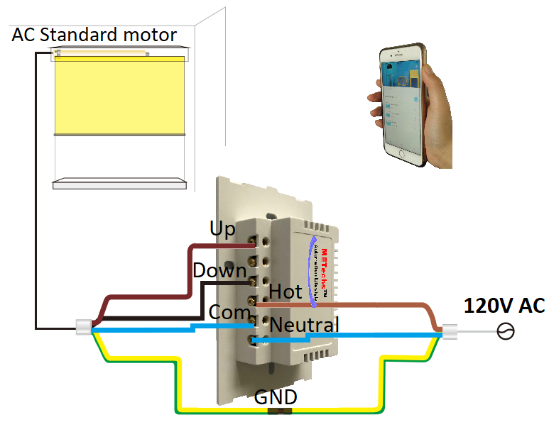 CL800-DWS Polarity Reverse DC Motor Control Switch