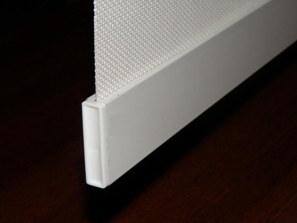 Aluminum Roller Shade Blind Bottom Weight Bar Bar F40
