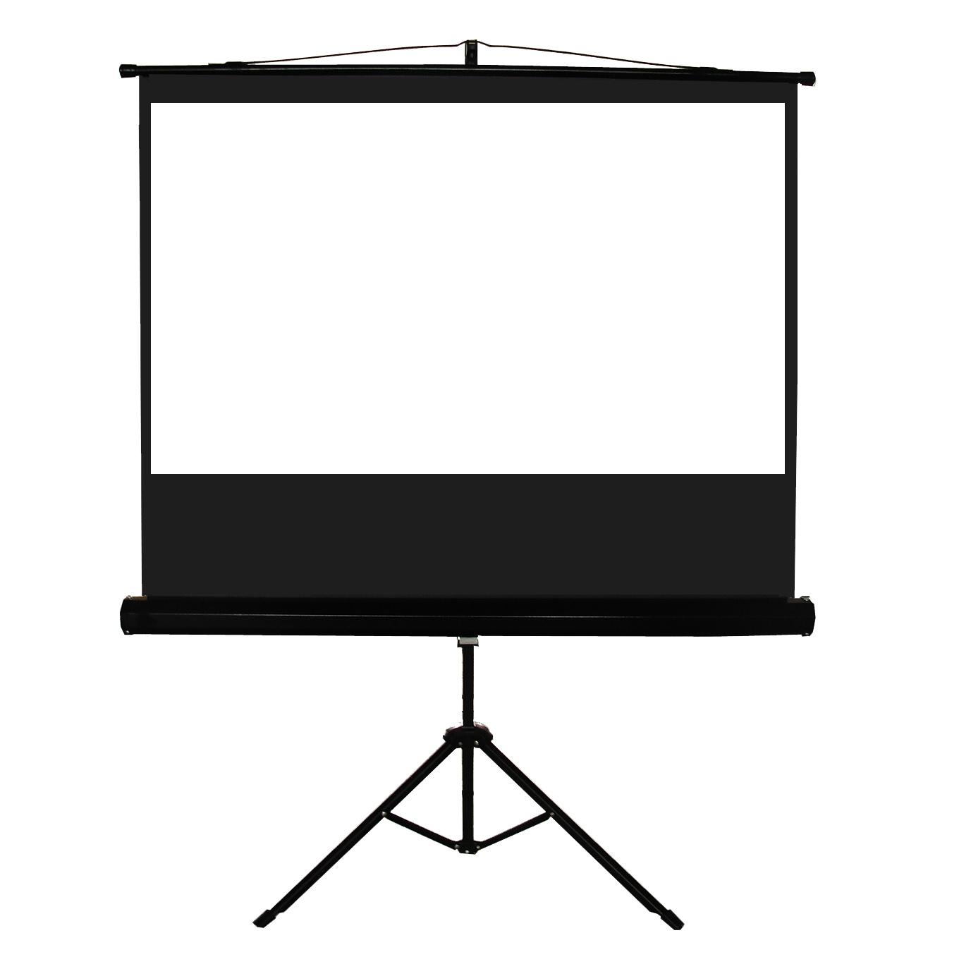 100 4 3 tripod portable projection screen me43t 100 me43t for Portable window curtain