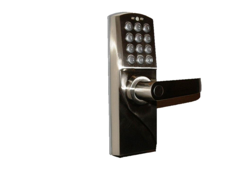 remote control window curtains electronic keyless door locks security alarm. Black Bedroom Furniture Sets. Home Design Ideas