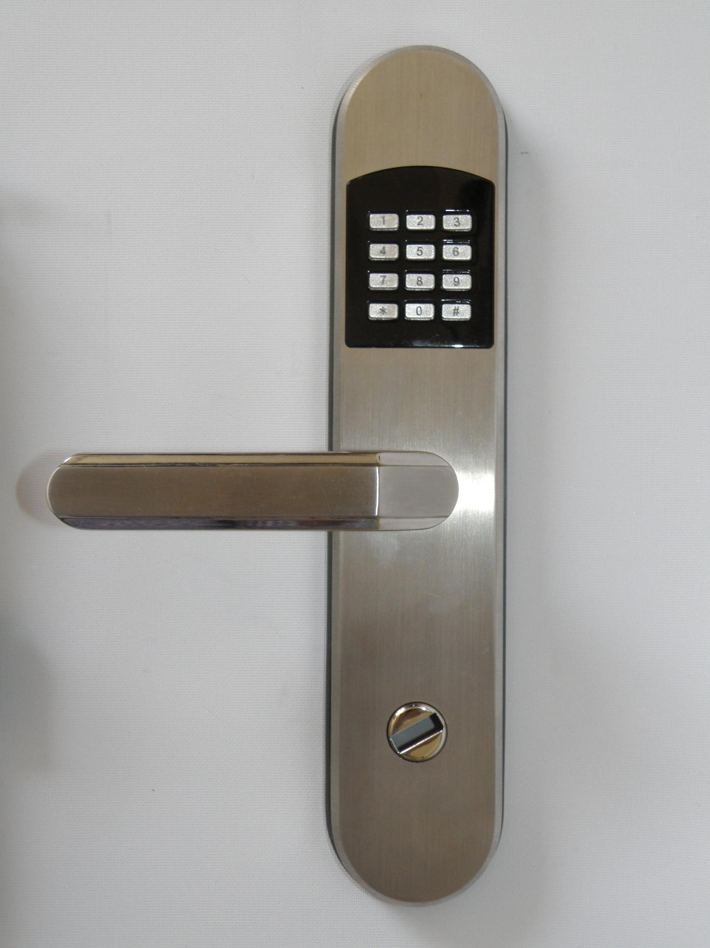 Remote Control Window Curtains Electronic Keyless Door Locks Gold Digital Keypad Lock Rfid And Code Access Mrdv 10 Lh Left Hand